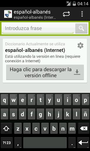 Spanish-Albanian Dictionary