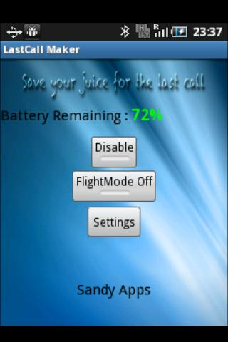 LastCall Maker - screenshot