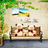 Free Bear Love You Theme