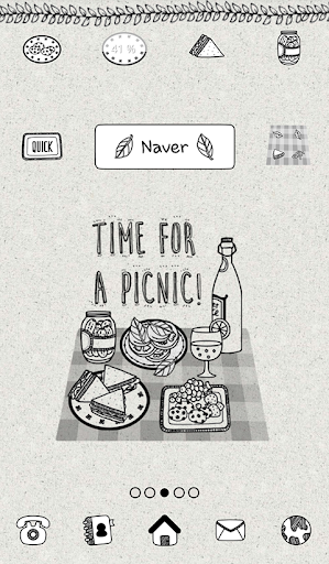 time for a picnic 도돌런처 테마