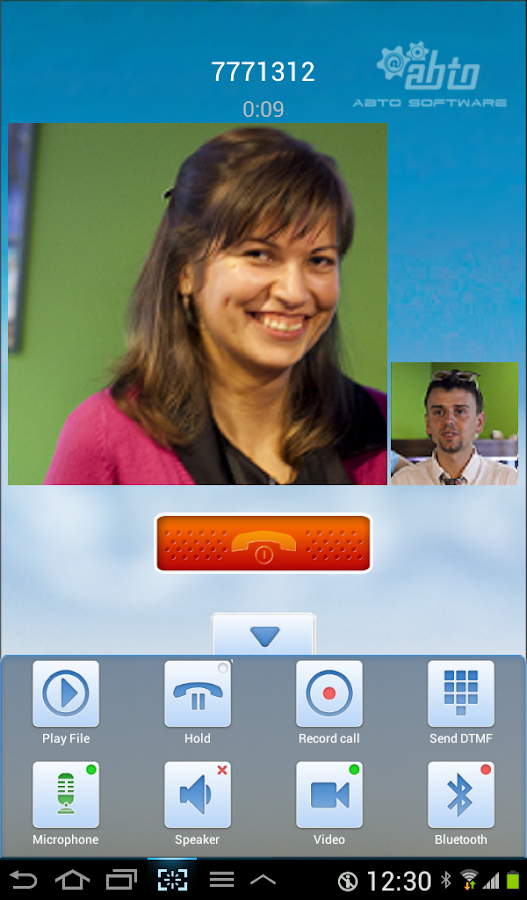 VoIP SIP SDK + Video - screenshot
