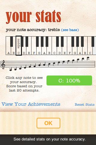 Note Trainer (Sight Reading)- screenshot