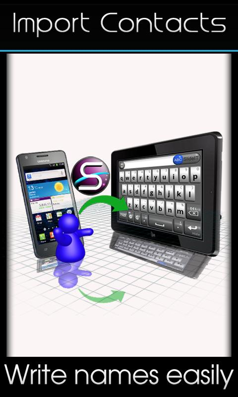 SlideIT free Keyboard - screenshot