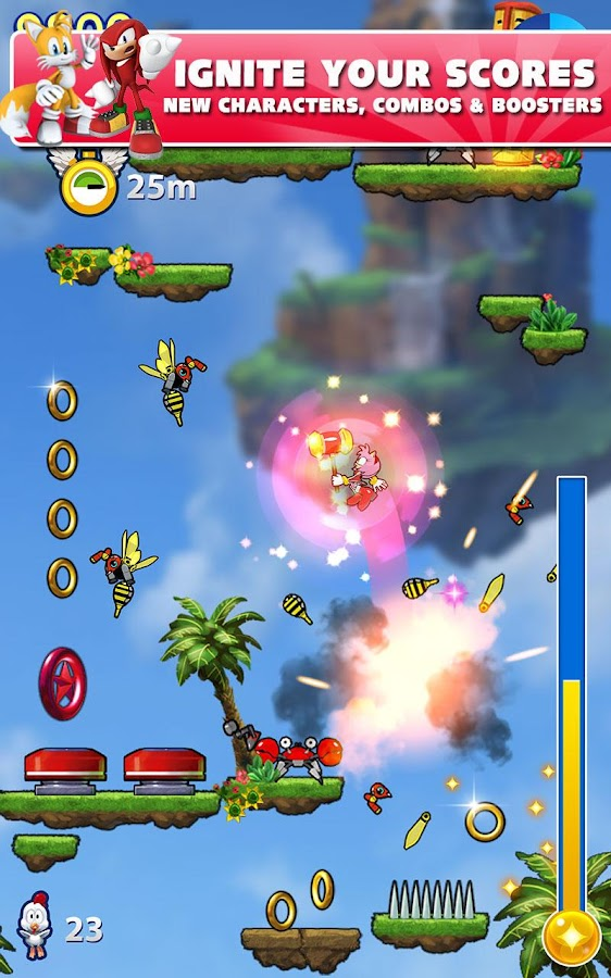 Sonic Jump Fever- screenshot