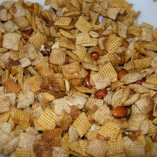 Microwave Chex Mix.