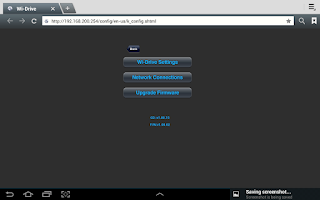 Screenshot of Wi-Drive.