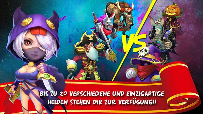 Schloss Konflikt: Castle Clash - screenshot