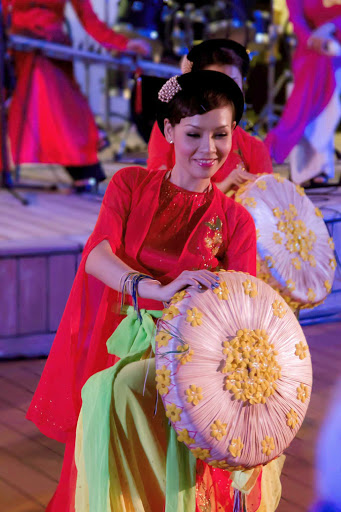 Azamara-Ho-Chi-Minh-Vietnamese-Show - The Ho Chi Minh Vietnamese Show will transport you to a new world while you sail with Azamara.