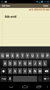 Classic Notes - Notepad - screenshot thumbnail