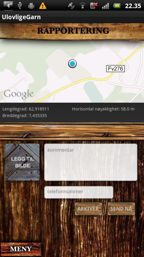 Ulovlige Garn- screenshot