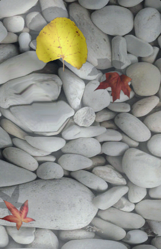 Water Stones Live Wallpaper