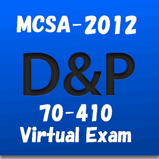 70-410 MCSA-2012 Virtual Exam LOGO-APP點子