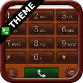exDialer Leather Notepad Theme