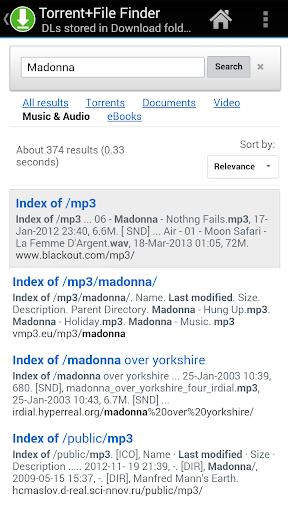 FIle Search + Finder MP3 PDF