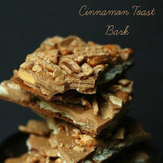 Peanut Butter Cinnamon Toast Cereal Bark