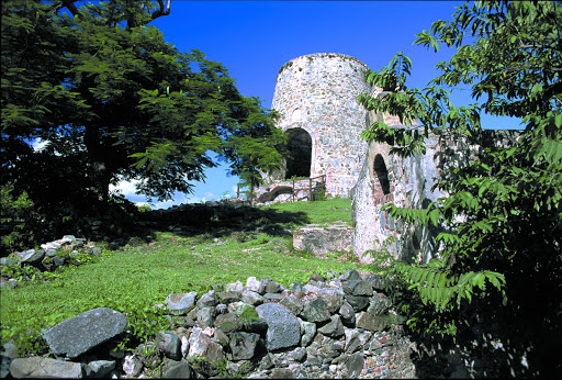 ruins-Annaberg-St-John-USVI - Ruins of the Annaberg Sugar Plantation on St. John, US Virgin Islands.