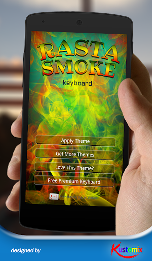 Rasta Smoke Keyboard