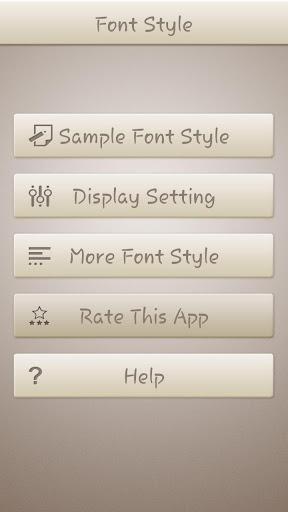 Handwrite Font Style