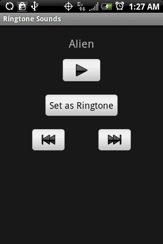 RINGTONE Sounds - screenshot
