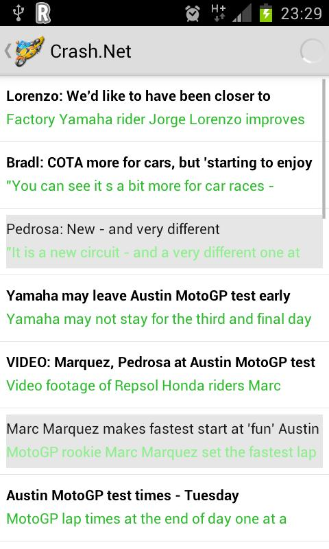 Motorcycle News - screenshot