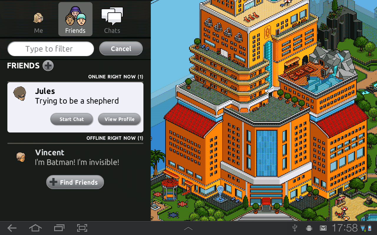 Pocket Habbo - screenshot