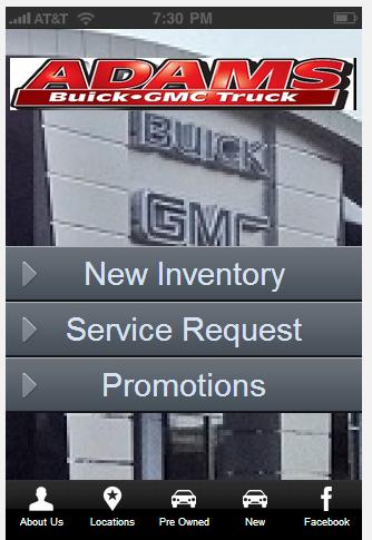 Adams Buick GMC