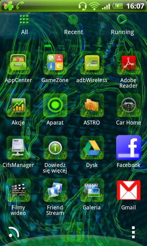 GO Launcher EX Theme Phoenix - screenshot