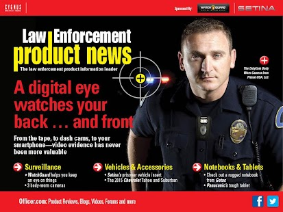 Law Enforcement Product News - screenshot thumbnail