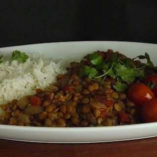 Carribbean Style Lentils