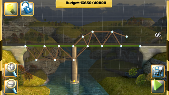 Bridge Constructor gameplay apk