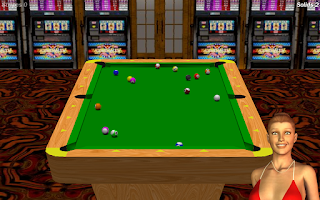 Screenshot of Vegas Pool Sharks Lite