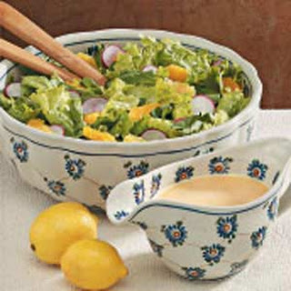 Tossed Salad with Citrus Dressing.