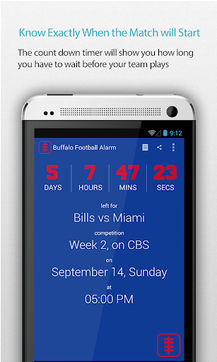 Buffalo Football Alarm
