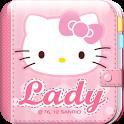 Hello Kitty Lady Diary icon