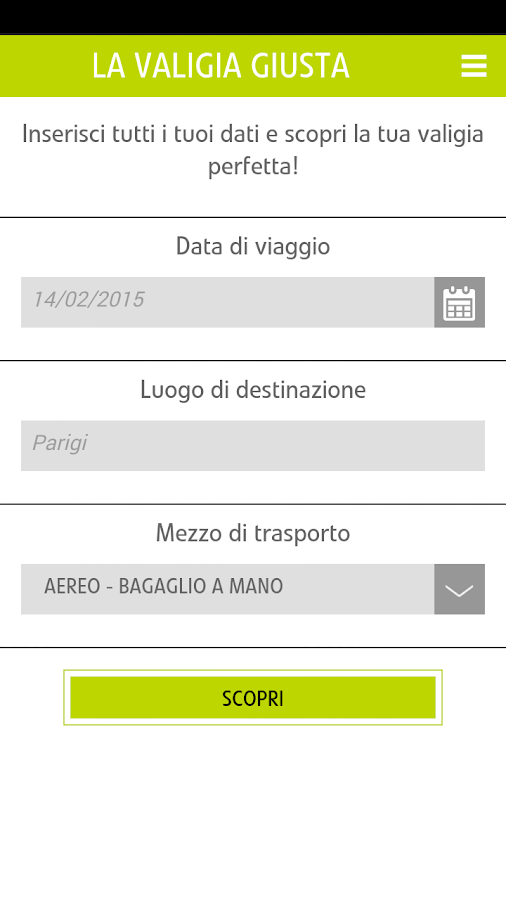 CARPISA OFFICIAL APP - screenshot