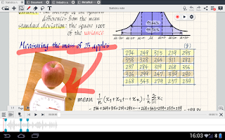 Screenshot of MetaMoJi Note