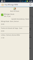 Screenshot of Hoy Milonga NRW