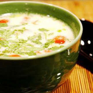 Quick Tom Ka Gai (Thai Chicken Soup) Recipe