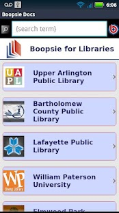 Boopsie for Libraries- screenshot thumbnail