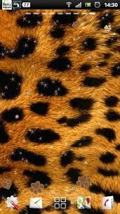 leopard tisk live wallpaper - náhled