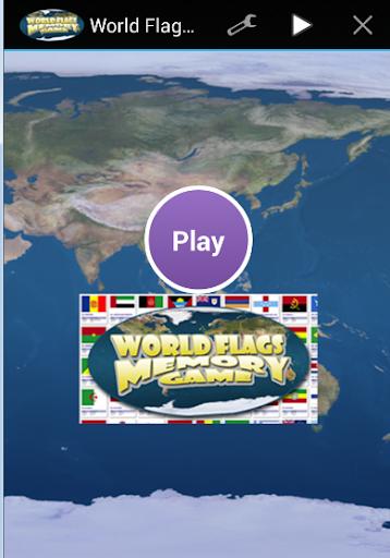 World Flag Memory Game