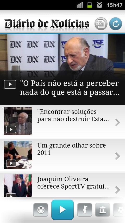 DN - Diário de Notícias- screenshot