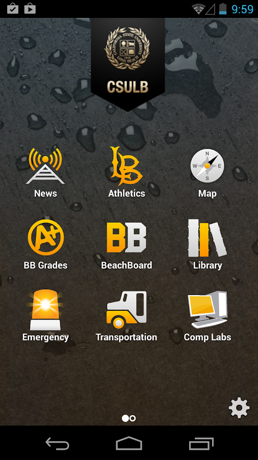 CSULB Mobile- screenshot