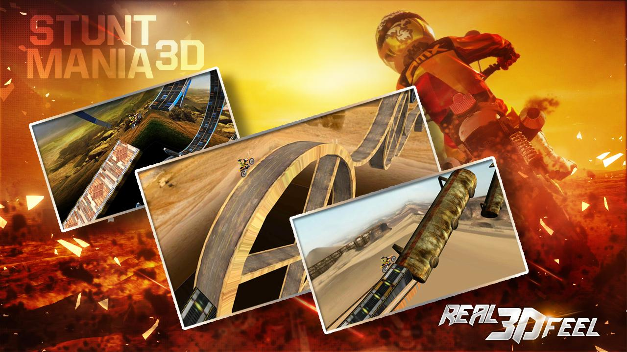 Stunt mania 3d for android apk download.