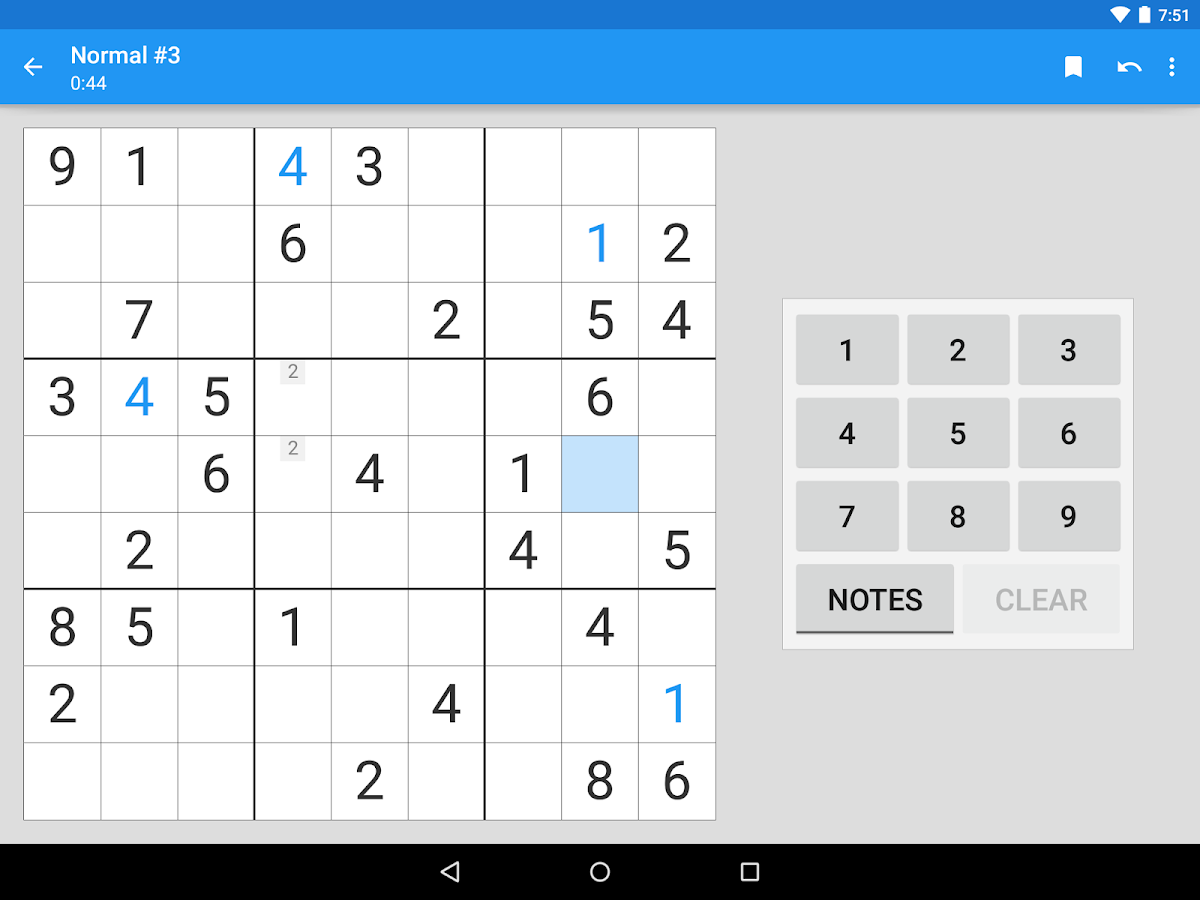 Material Sudoku- screenshot