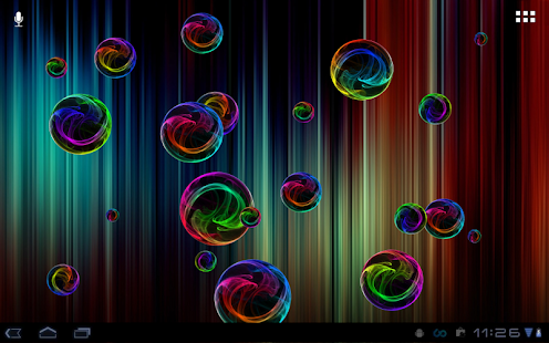 Deluxe Bubble Live Wallpaper - screenshot thumbnail