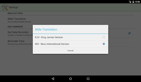Daily Bible Verse 2.05 screenshot 303867