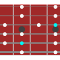 guitar/bass scale table logo