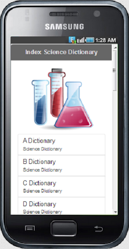 Science Dictionary Database