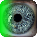 eye scanner lock free mobile app icon